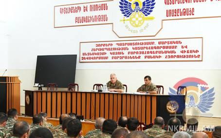 В Арцахе прошли армейские командные сборы