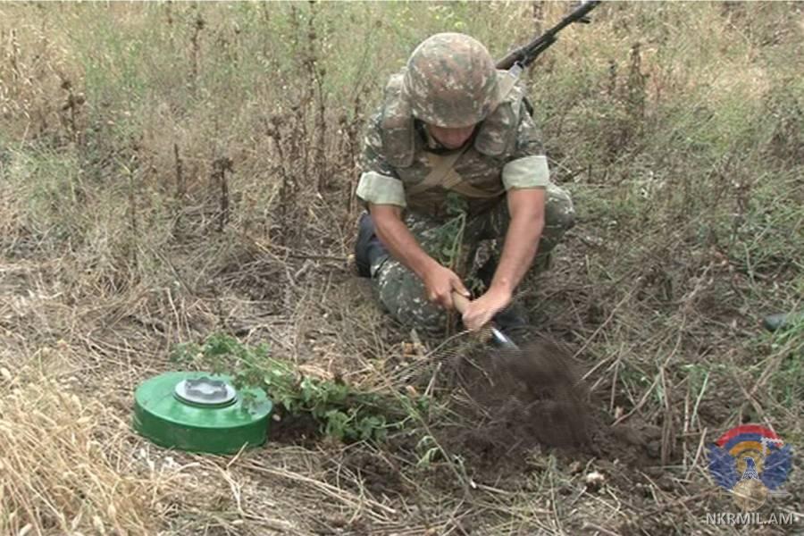 В Армии обороны Арцаха проходят лагерные сборы
