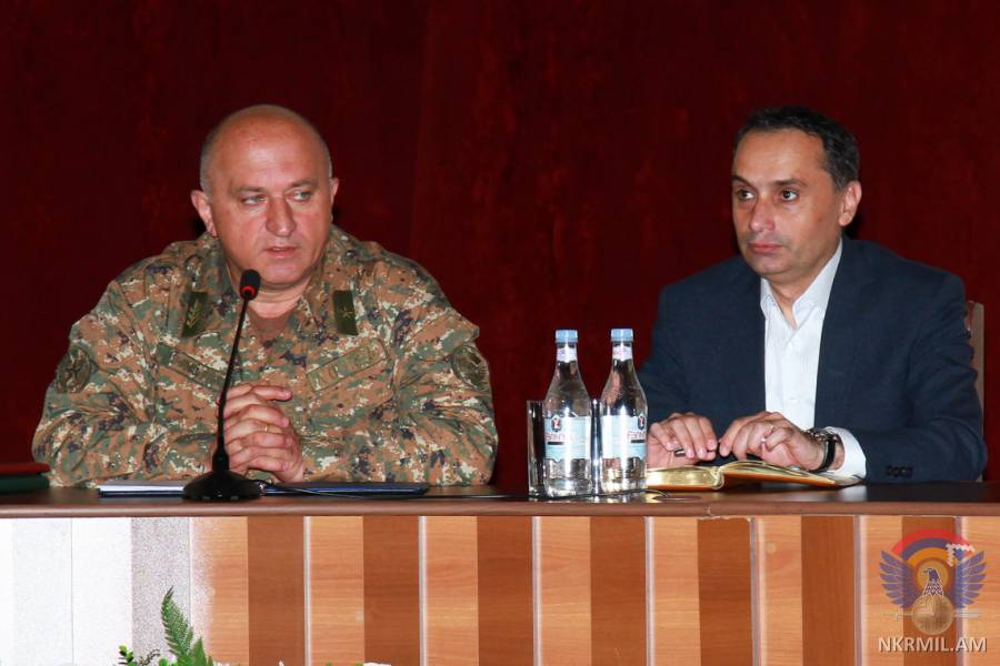 В Степанакерте состоялась общеармейская конференция