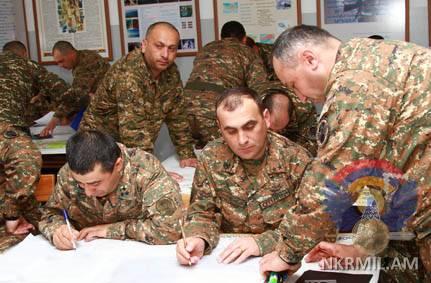 Командные сборы в Армии обороны Арцаха