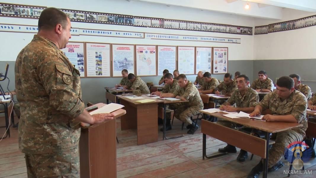 В Арцахе прошли командные сборы