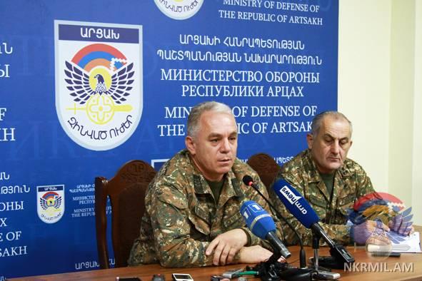 Левон Мнацаканян: В 2017 г ни одно действие азербайджанских ВС не осталось незамеченным