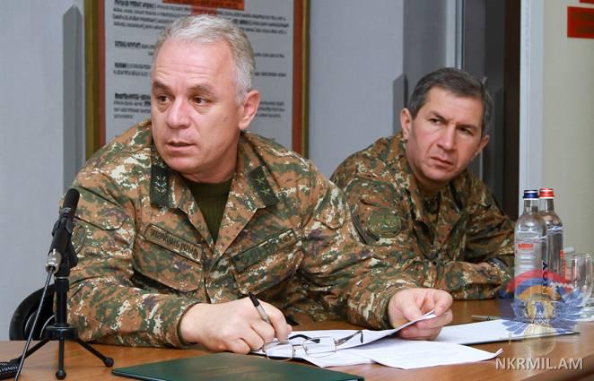 В Армии обороны Арцаха проходят тактико-строевые учения
