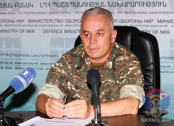 Министр обороны НКР: Власти Азербайджана сделали нормой практику размещения огневых точек в населенных пунктах