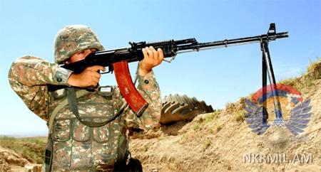 Минобороны Арцаха: ВС Азербайджана за минувшую неделю произвели свыше 2300 выстрелов
