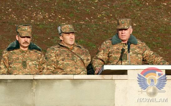 В Армии обороны Арцаха начался новый учебный этап