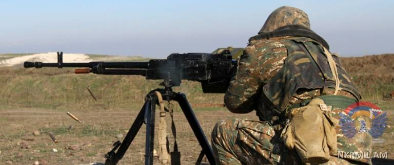 Минобороны Арцаха: ВС Азербайджана нарушили режим прекращения огня свыше 150 раз