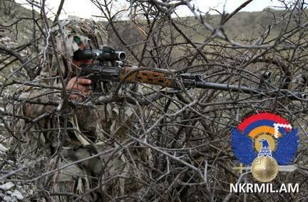 Առավել ինտենսիվ խախտումներ են արձանագրվել Ակնայի ուղղությամբ. ԼՂՀ ՊՆ