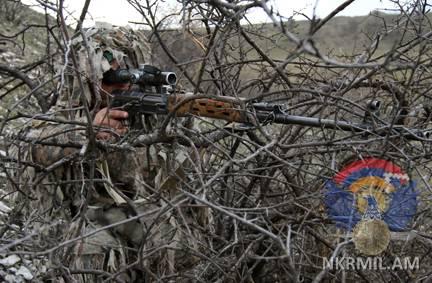 АО НКР: ВС Азербайджана предприняли провокационные действия на линии соприкосновения
