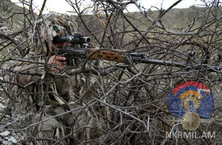 Минобороны Арцаха: ВС Азербайджана за минувшую неделю нарушили режим прекращения огня свыше 250 раз