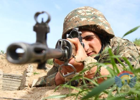 Հակառակորդը հայ դիրքապահների ուղղությամբ արձակել է ավելի քան 340 կրակոց