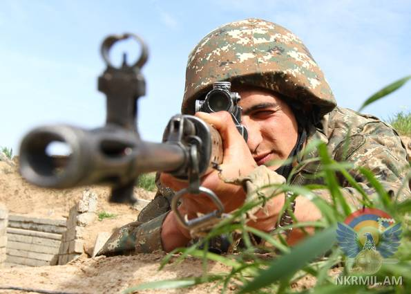 Минобороны Арцаха: ВС Азербайджана за минувшую неделю нарушили режим перемирия в целом свыше 110 раз